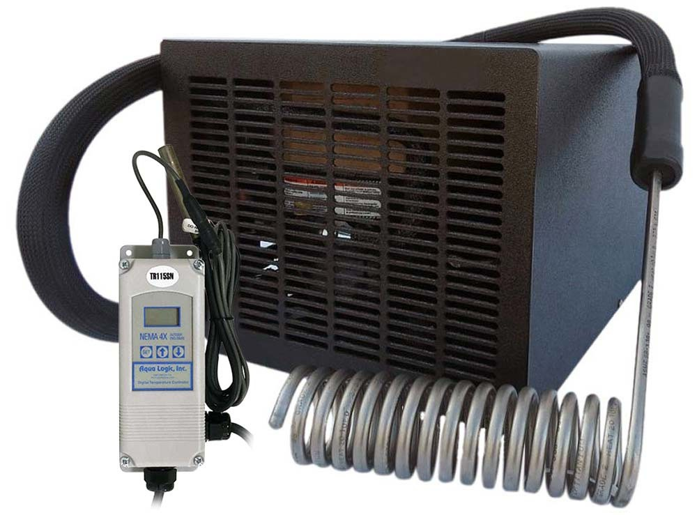 Aqua Logic Cyclone Chiller 1/3 HP, CY-4 with Temperature Controller