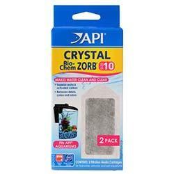 API Crystal Bio-Chem Zorb Cartridge for SuperClean 10 Internal Power Filter (2/pk)