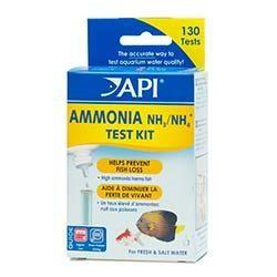 API Freshwater/Saltwater Ammonia Test Kit, Test kit of 130 tests