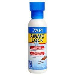 Ammo-Lock Freshwater and Saltwater Ammonia Detoxifier (4 oz.) - API