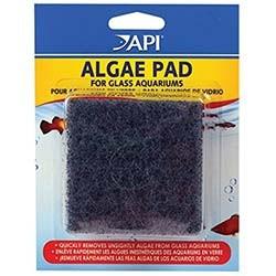 API Doc Wellfish`s Hand Held Algae Pad (Glass Aquariums) 3 inch x 3 inch
