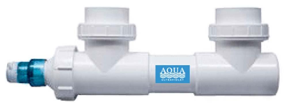 Aqua Ultraviolet UV Sterilizer without Wiper (8 Watt, 3/4 Inch)