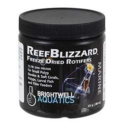 Brightwell Aquatics ReefBlizzard ZR Freeze Dried Rotifers (25g Jar)