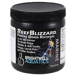 Brightwell Aquatics ReefBlizzard ZR Freeze Dried Rotifers (55g Jar)