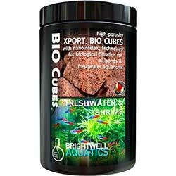 Xport BIO Cubes Freshwater & Shrimp - Biological Filtration Media - Brightwell Aquatics (500 ml)