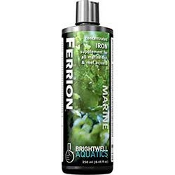 Brightwell Aquatics Ferrion - Liquid Iron Supplement for Reef Aquaria and Refugia 250mL / 8.5oz
