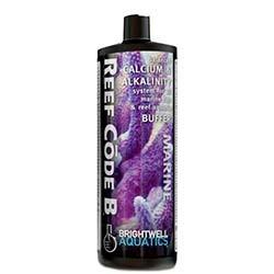 Brightwell Aquatics Reef Code B - Balanced Calcium & Alkalinity System - Part B (Alk.) 2 L / 67.6oz