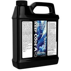 Reef Code 2-Part Balanced Calcium & Alkalinity System - Part A (Calc.) 4L (1 Gal) - Brightwell Aquatics