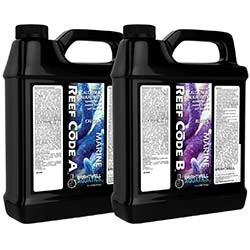 Reef Code 2-Part Balanced Calcium & Alkalinity System 2 Gal (1 Gal each bottle) - Brightwell Aquatics
