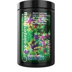 Brightwell Aquatics ReefBlizzard XC Xtreme Color for SPS, Soft Corals, Polyps, Larval Fish - Powder (40g)
