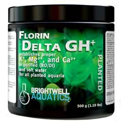 Florin Delta GH+ Potassium, Magnesium, and Calcium Freshwater Supplement - 250 g - Brightwell Aquatics