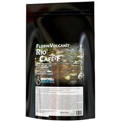 FlorinVolcanit Rio Cafe-F Planted Tank Fine 3mm Substrate (Brown) - 5 lbs - Brightwell Aquatics