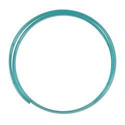 CO2-Proof Tubing - Transparent Blue 10 Feet Roll
