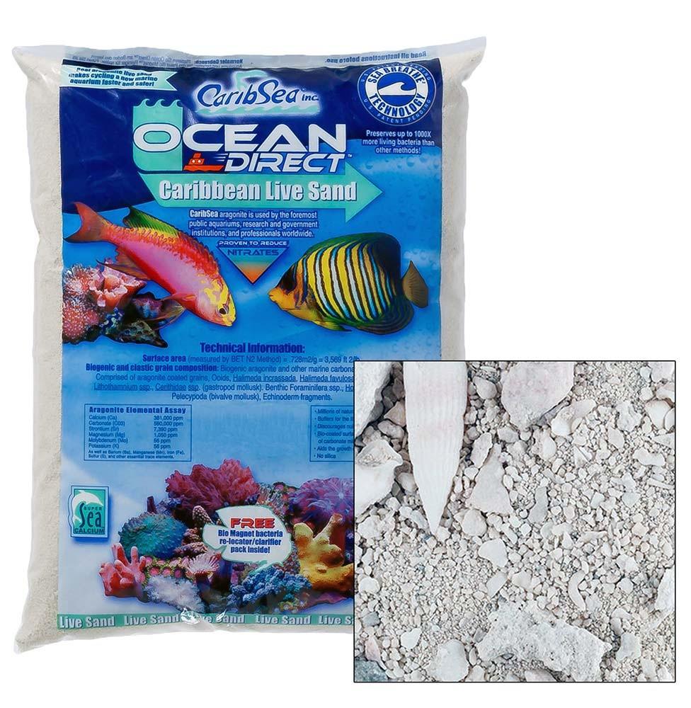 CaribSea Ocean Direct Live Sand Original 40 lb