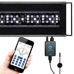 Current USA Orbit Marine LED Reef Aquarium Light w/ LOOP Mini Controller & Temperature Sensor (24-36 inch)