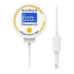 Titanium S1 Digital Inline TDS Meter with One Probe Sensor - Auto Aqua