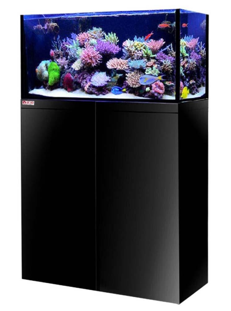 LUX T60 - 32 Gallon Aquarium System - Black - Reef Octopus
