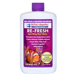 Re-Fresh Natural Sparkling Water Conditioner for Marine Aquariums 8oz - Reef Pure - Dr. Tim's Aquatics