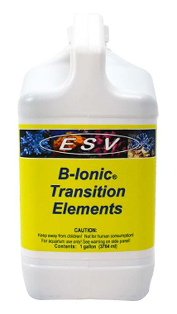 E.S.V. B-Ionic Transition Elements - 1 Gal.