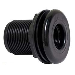 Standard Threaded Bulkhead Fitting - 1 inch