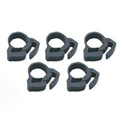 Plastic Hose Clamp 1/2 Inch - 5 pack