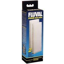 Fluval Filter Foam Block f/204 & 304 2/pk
