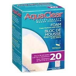 Aqua Clear 20 Foam Filter Block