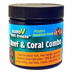 V2O Aquarium Foods Nano V Soft-Freeze Reef & Coral Combo - 4oz