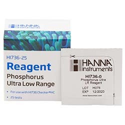 Hanna Instruments Phosphorus Ultra Low Range Reagents - 25 Tests
