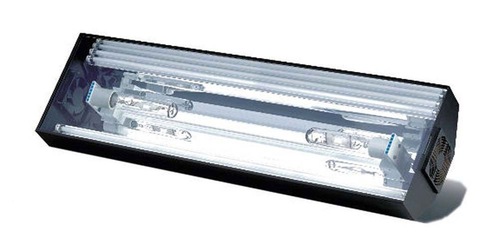 Hamilton Cebu Sun Lighting System - 48 Inch 2 x 175 Watt 10,000K Metal Halide and 4 x 54 Watt T5 HO Actinics