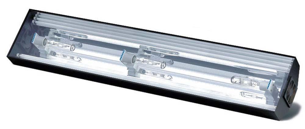 Hamilton Cebu Sun Lighting System - 72 Inch 3 x 175 Watt 10,000K Metal Halide and 4 x 80 Watt T5 HO Actinics