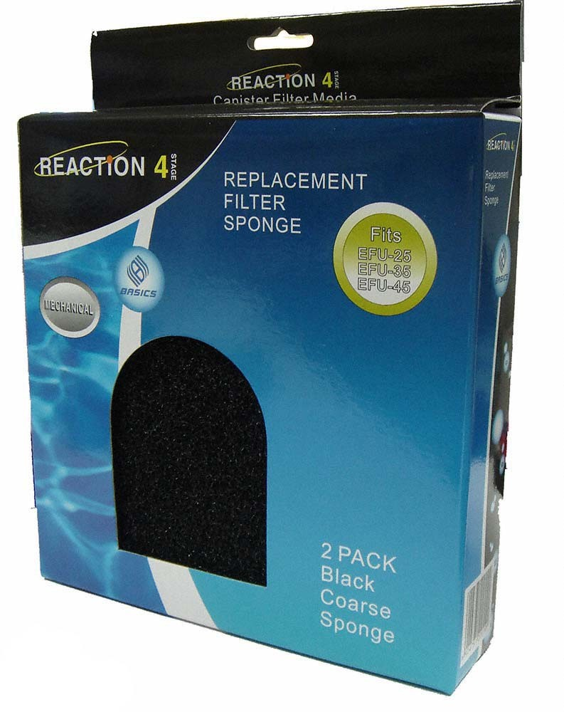 JBJ Reaction Canister Filter: Replacement Coarse Sponge