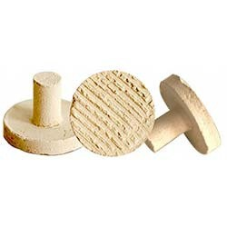 Marine Depot Large Fired Ceramic Circular Frag Plugs- 25 Pack