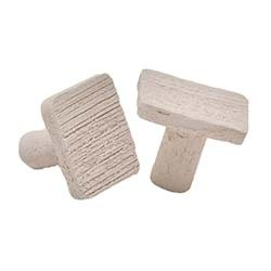 Marine Depot Fired Ceramic Square Frag Plugs - 50 Pack