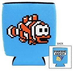 Marine Depot 8-Bit Clownfish Koozie