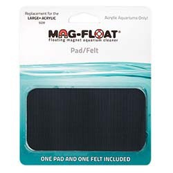 Mag-Float Replacement Pad and Felt for Large+ Magnet Cleaner - Acrylic