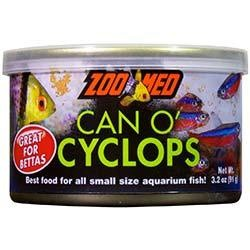 Zoo Med Can O' Cyclops Fish Food 3.2 oz - Single Pack