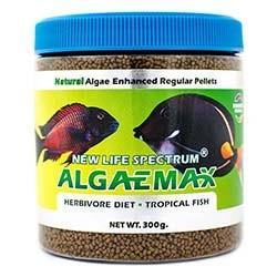 NLS Herbivore Diet AlgaeMAX 1 to 1.5mm Sinking Pellet Food (300g) - New Life Spectrum