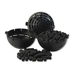 Lifegard Aquatics Bio-Mate, 1-1/2 inch Carbon Filled Balls, 1 Gallon