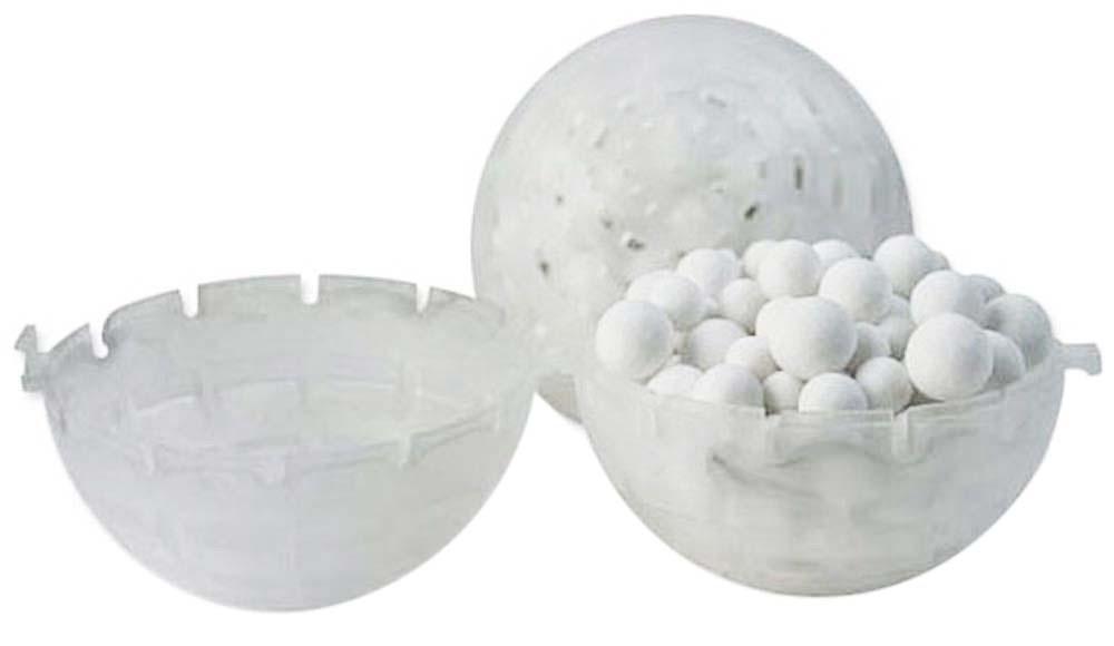 Lifegard Aquatics Bio-Mate, 1-1/2 inch Ceramic Filled Balls, 1 Gallon