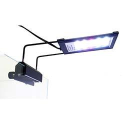 Lifegard Aquatics Full Spectrum LED Aquarium Light w/ Mounting Bracket (5 inch)