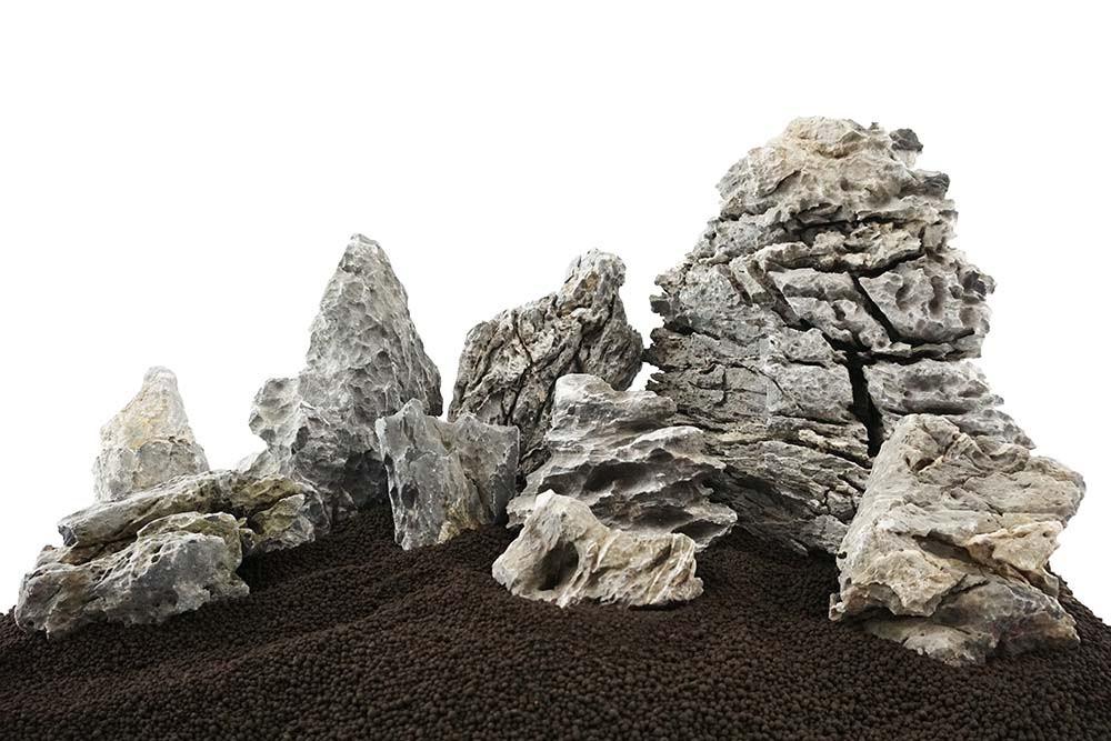 Smoky Mountain Stone Mixed Freshwater Rocks - Medium Set - Lifegard Aquatics