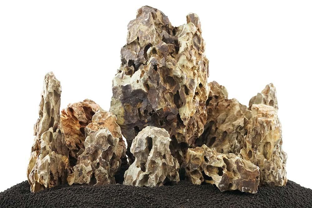 Dragon Rock Mixed Freshwater Rocks - Medium Set - Lifegard Aquatics
