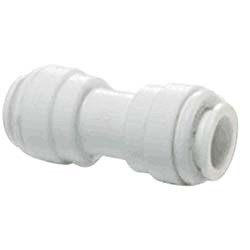 JG 1/4 inch x 1/4 inch Union Connector - White