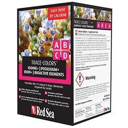 Red Sea Trace Colors ABCD Supplements - 4 Pack