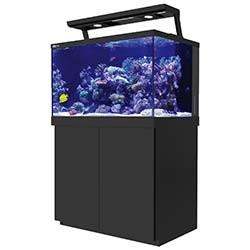 Red Sea Max S 400 LED Complete Saltwater Aquarium System - 110 Gallon (Black)