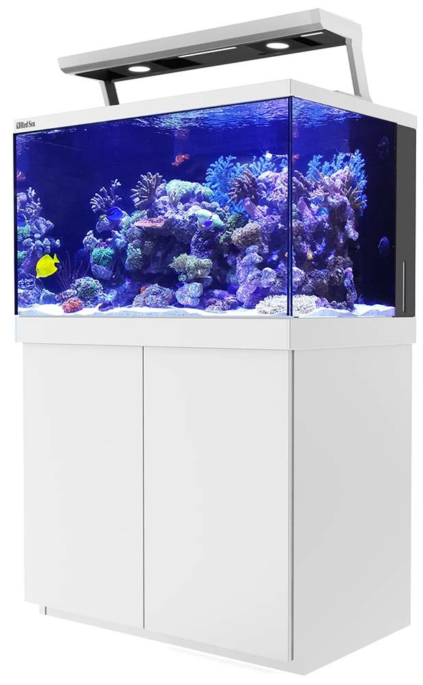 Red Sea Max S 400 LED Complete Saltwater Aquarium System - 110 Gallon (White)