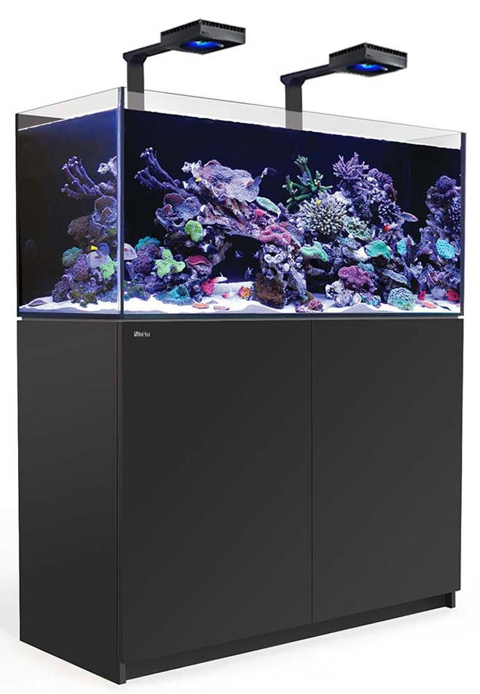 Red Sea Reefer 425 XL Deluxe Aquarium w/ ReefLED 90 Lights - 112 Gallon (Black)