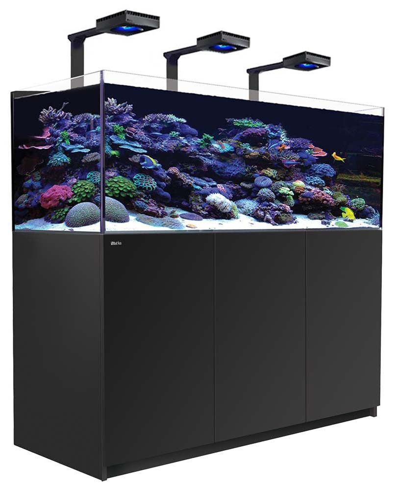 Red Sea Reefer 525 XL Deluxe Aquarium w/ ReefLED 90 Lights - 139 Gallon (Black)