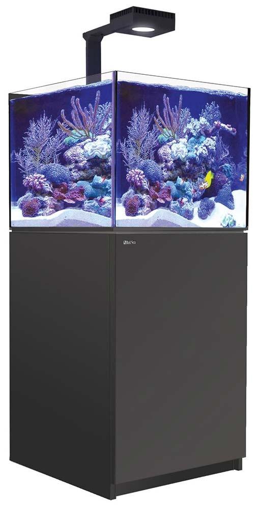 Red Sea Reefer 200 XL Deluxe Aquarium w/ ReefLED 90 Lights - 53 Gallon (Black)